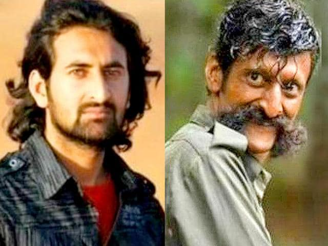 RamGopal Varma's latest find SandeepBharadwaj is a National School of Drama-trained actor who made his film debut in Killing Veerappan.
