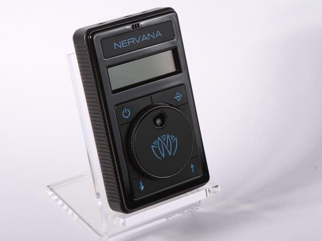 NERVANA is a breakthrough electronic device that syncs with music and sends pleasure signals to the brain.