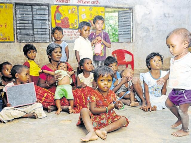 In Jharkhand, anganwadi centres play a crucial role due to the high rate of malnutrition in the state, particularly among the tribe groups.