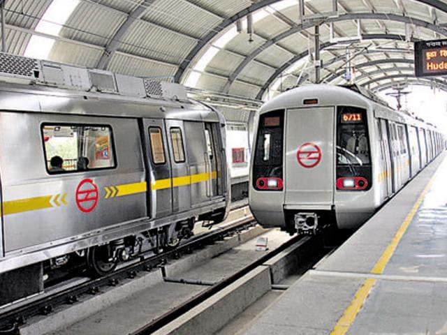 Delhi metro. The SC has suggested premium service in the Delhi  Metro for luxury car owners.