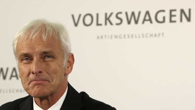 Volkswagen,Emission scandal,Matthias Mueller