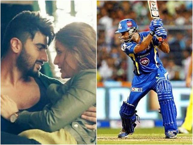 Will Arjun and Kareena's Ki and Ka face challenge from cricket?(Agencies)