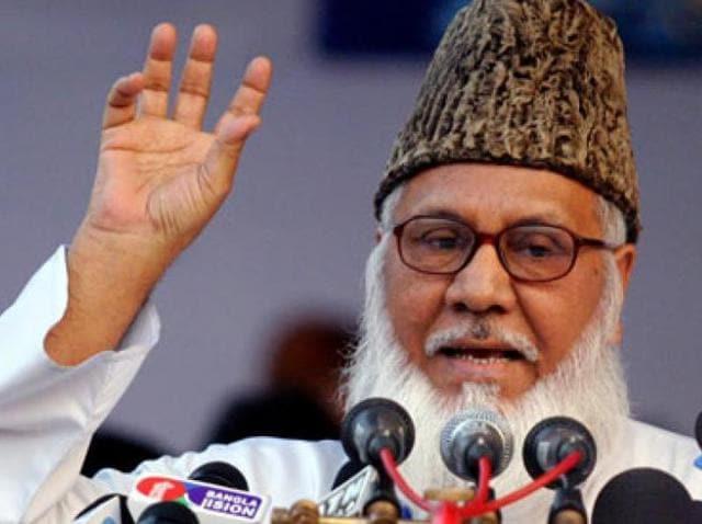 Jamaat-e-Islami chief Motiur Rahman Nizami