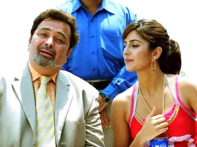 Rishi Kapoor and Katrina Kaif acted together in Namastey London as dad and daughter.
