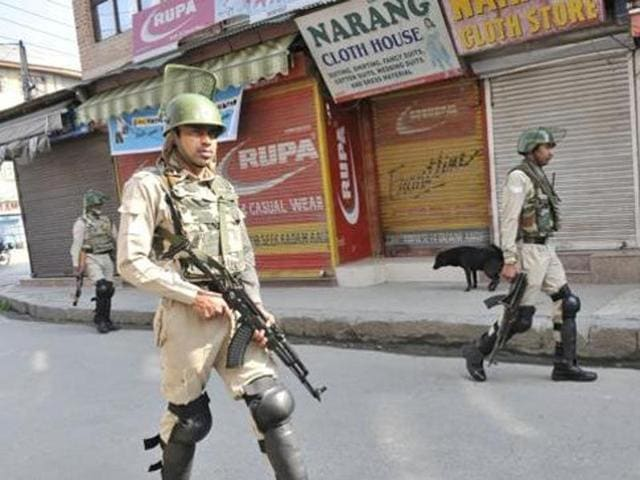 Sopore remained shut on Wednesday to commemorate the Sopore killing incident.