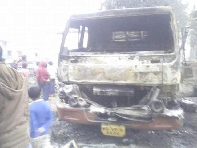 Kaliachak police station attack