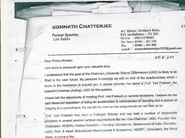 Did politicians interfere in UGC appointment?