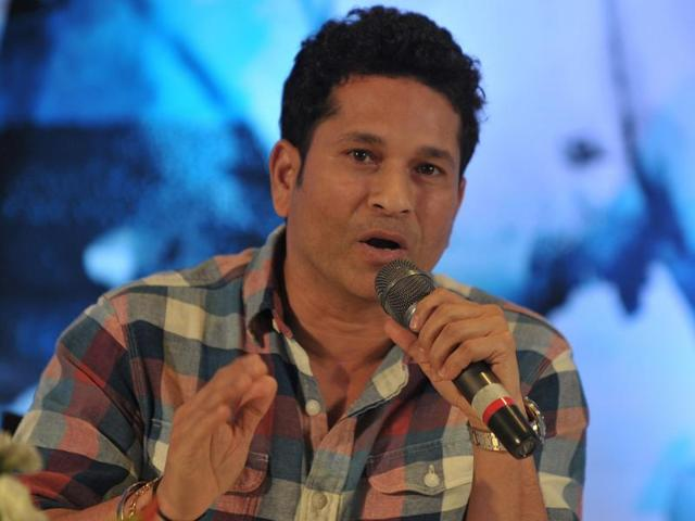 """Sachin Tendulkar termed the soldiers martyred in the Pathankot attack """"the real heroes of the country""""."""