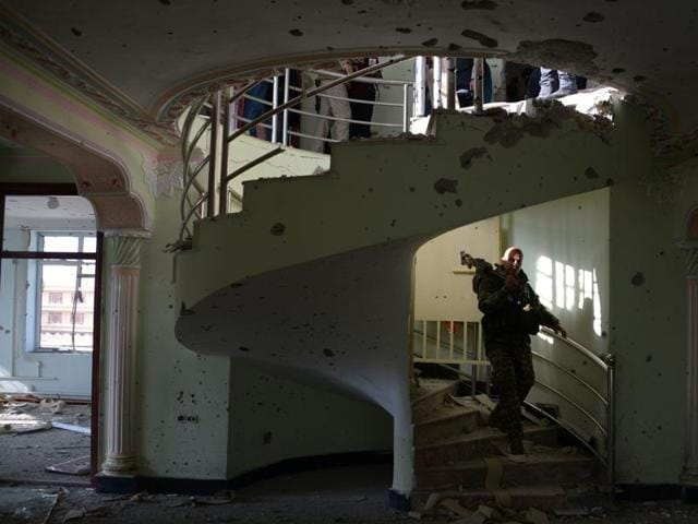 The terrorists who attacked the Indian consulate in the Afghan city of Mazar-e-Sharif  wrote two messages on the walls of the room of a house in which they were holed up. The messages said that the attack was 'revenge for Afzal Guru'.