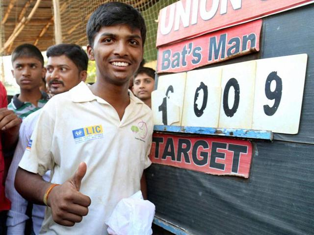 MS Dhoni believes Pranav Dhanawade's talent can go a long way, provided it is nurtured in the right direction.