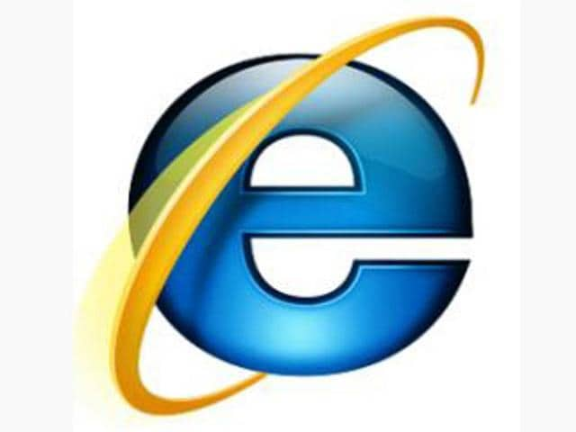 Internet Explorer Logo.