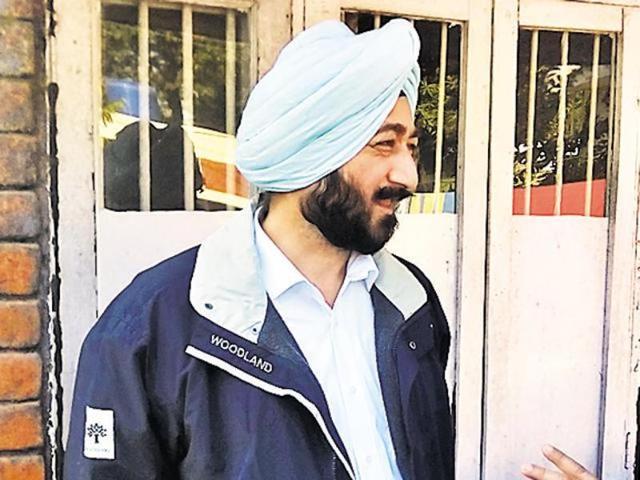Punjab police officer Salwinder Singh