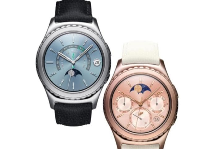Samsung has announced plans to launch blinged-out versions of their Gear S2 smart watches in 18K rose gold and platinum plating