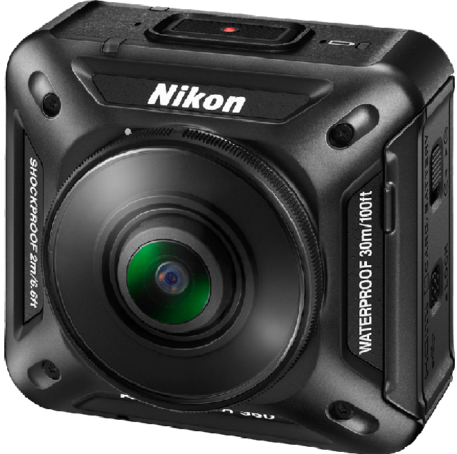 The 4k camera shoots VR videos, fits in the palm and supports NFC, bluetooth and wi-fi connectivity.