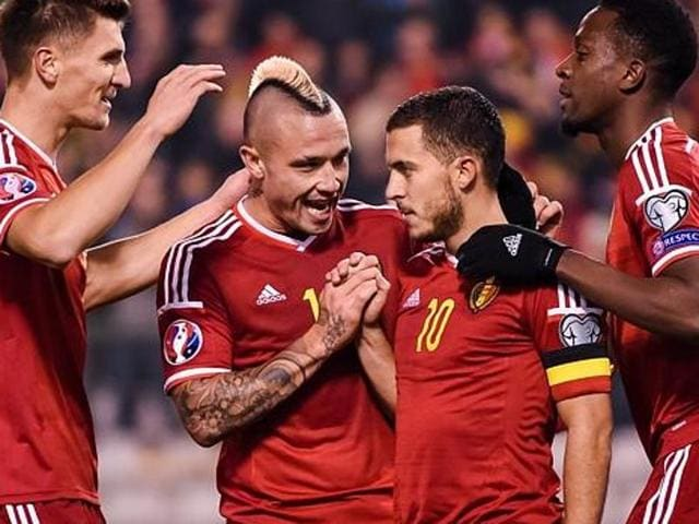 Belgium will start the year 2016 atop the FIFARankings.