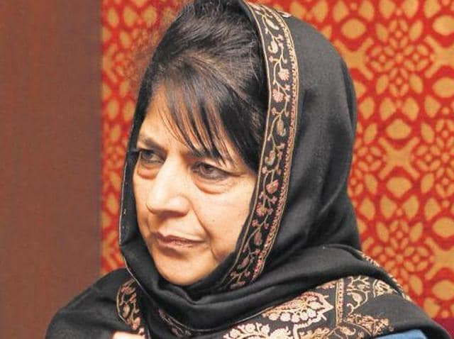 The 56-year-old president of People's Democratic Party (PDP) will be the first woman to hold the top job in the Muslim-majority state since its accession to India in 1947.