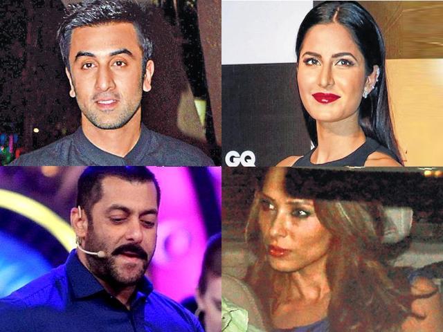 Salman Khan,Katrina Kaif,Iulia Vantur