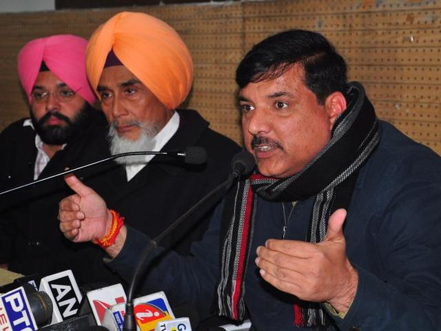 """Contradictory statements of superintendent of police Salwinder Singh and his presence in the area and the very odd hour that day raises many questions,"" Sanjay claimed in a press conference."