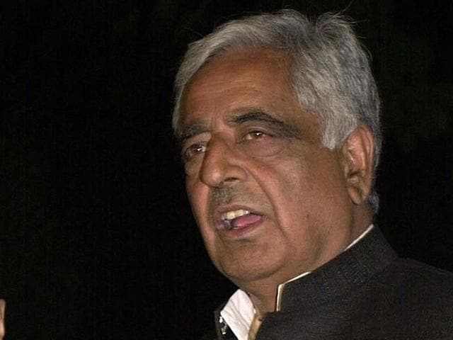 Sayeed's body will be taken to Srinagar, the main city in Kashmir, and then buried in his ancestral village