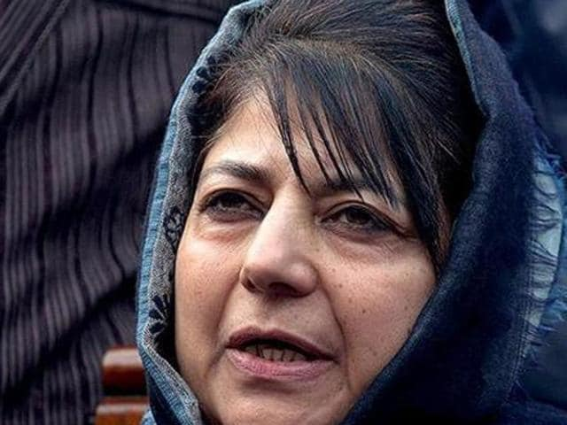 If the transition takes place, Mehbooba, 56 will be the state's first woman chief minister.