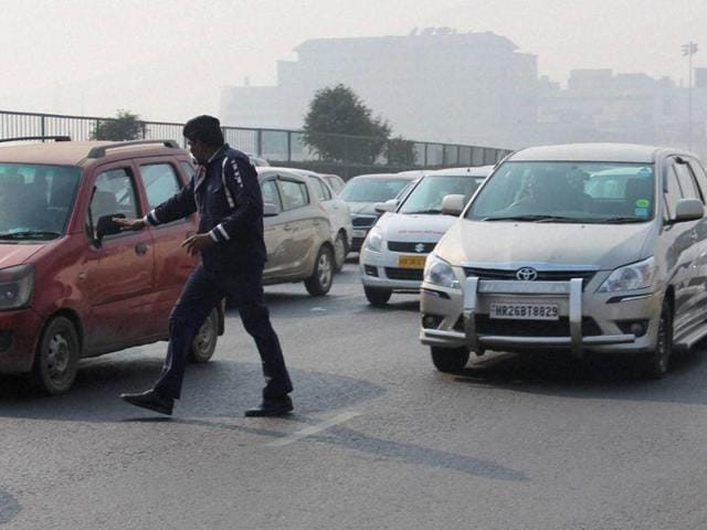The odd-even car rationing experiment was started on January 1 as one of the first measures to curb the high level of air pollution in Delhi