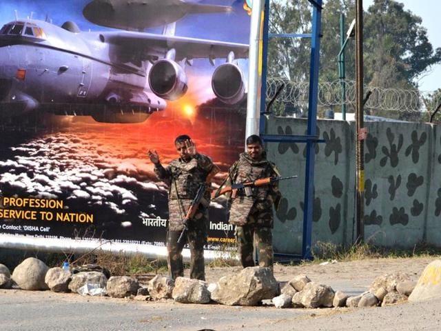 Pathankot atttack,Terrorism,Punjab