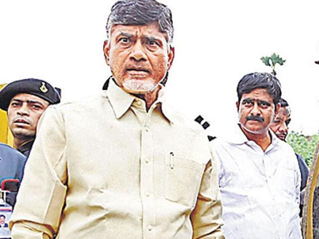 A circular issued by the Chandrababu Naidu government has asked all school students and teachers in Andhra Pradesh to contribute Rs 10 each towards building the new capital Amaravati.