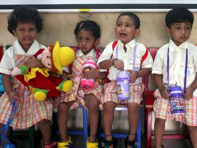 Age limit on entry-level education,AAP government,Nursery admissions
