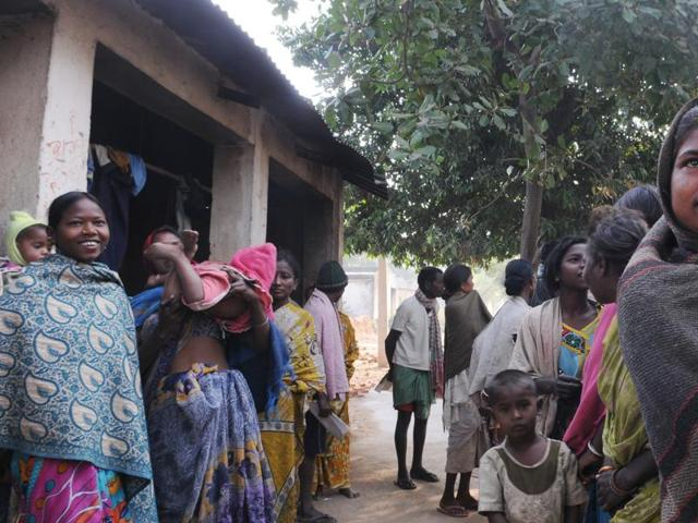 At Birhor Tola, barring one member, none have received the new ration card, thereby depriving them of the 35kg of free rice each family earlier used to get every month.