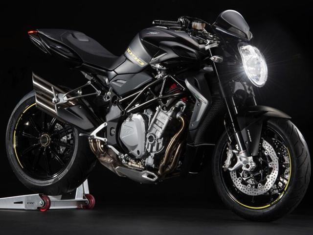 Powered by a 1078cc engine, the Brutale 1090 can be clocked to a top speed of 265 km/hr