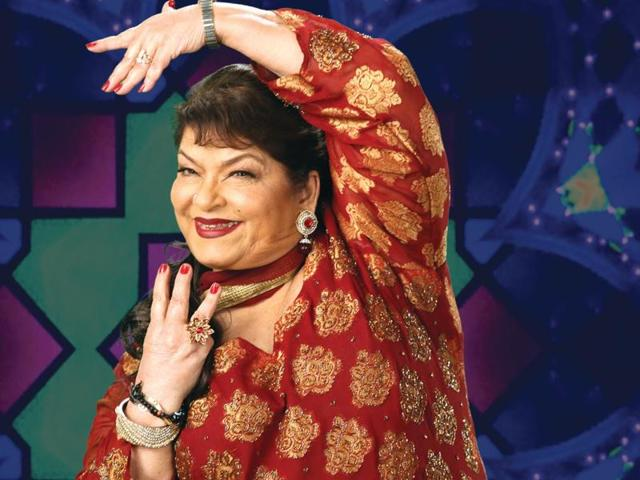 Saroj Khan is often credited for taking the dancing capabilities of actors Madhuri Dixit and Sridevi to another level.