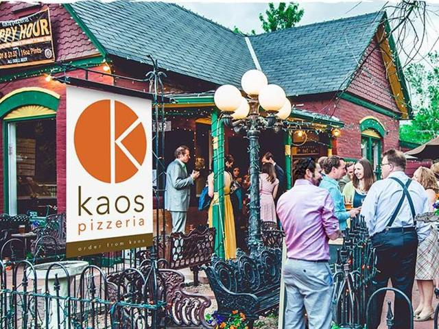 Kaos Pizzeria place in Denver is offering free pizzas for a year for the one who'll help nab the man who stole all of the money from the restaurant's two cash registers.