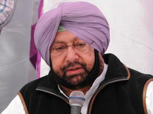 Punjab Congress president Capt Amarinder Singh.