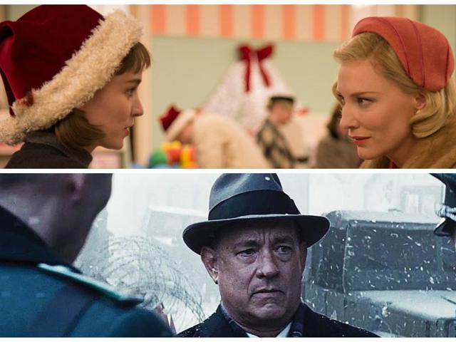 Carol and Bridge of Spies scored nine nominations apiece at the BAFTAs