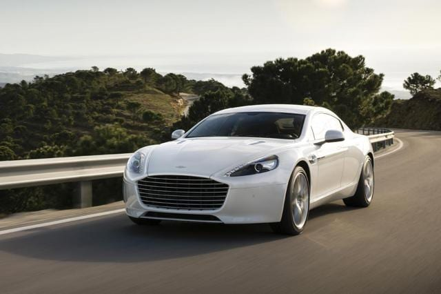 Chinese Technology Company Letv And Luxury Sports Car Brand Aston Martin  Revealed A New Aston Martin Rapide S Vehicle Fitted With Letvu0027s Smart  Vehicle ...