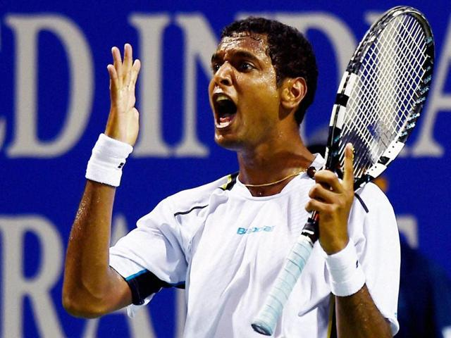 It was sheer guts that saw Ramkumar Ramanathan pull off a 3-6, 6-4, 6-4 win to earn his first quarterfinal berth on the tour.