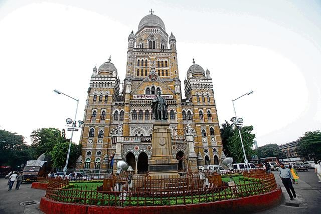 The Brihanmumbai Municipal Corporation headquarters