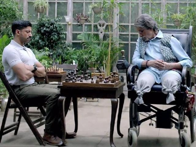 Farhan Akhtar and Aditi Rao Hydari play lead roles in Wazir.