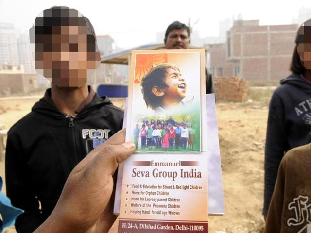 Children rescued from an allegedly illegal shelter home in Greater Noida likened their stay to a 'jail term', and said that they were beaten and forcibly converted to Christianity.