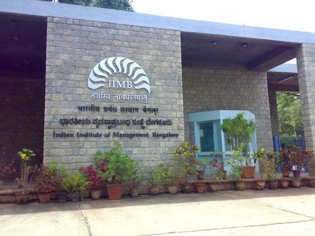 A file photo of the Indian Institute of Management (IIM) in Bangalore.