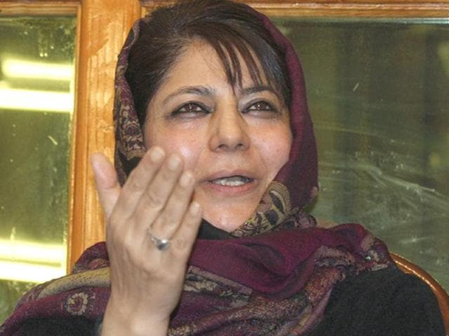 BJP to meet in Srinagar to decide on Mehbooba Mufti as J-K's  CM