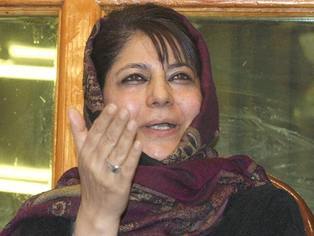 PDP president Mehbooba Mufti has vacated the chief ministerial residence allotted to her father, former CM Mufti Mohammad Sayeed, in Jammu.