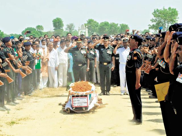 The security forces have clearly laid down rules for compensation to be awarded to the martyrs' families and protocols are there to extend the support needed by them. But it has often been seen that the families are left to fend for themselves as red tape and sheer apathy add to their miseries.