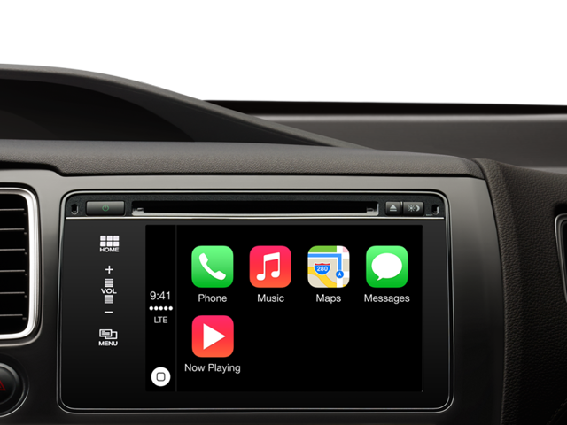 Apple's CarPlay lets drivers access contacts on their iPhones, make calls or listen to voicemails without taking their hands off the steering wheel.