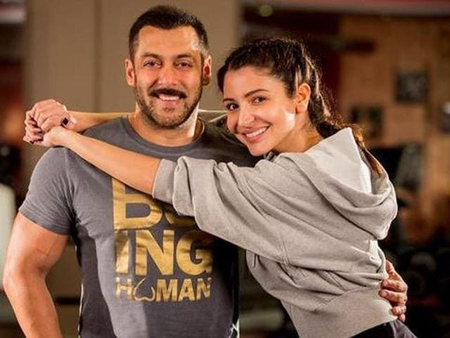 Anushka Sharma shared this pic on Twitter after it was revealed that she will star opposite Salman Khan in Sultan.