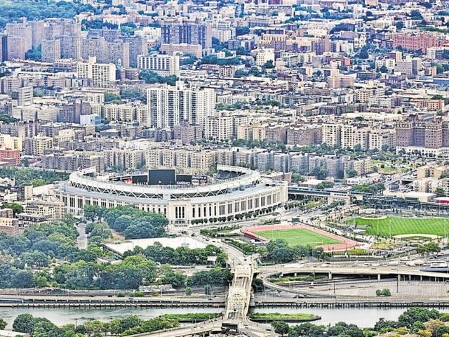 The Yankee stadium in New York  is a tourist destination with eateries and pubs and housing around it commands a premium of 20-25%.