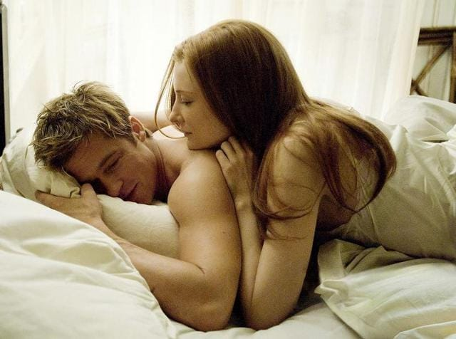 Cate Blanchett and Brad Pitt in The Curious Case of  Benjamin Button.