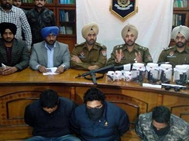 The crime investigating agency (CIA) of SAS Nagar police arrested a Border Security Force (BSF) jawan, who used to help the three drug smugglers — Gurjant Singh, Sandeep Singh and Jatinder Singh — in cross-border smuggling of drugs, arms and ammunition