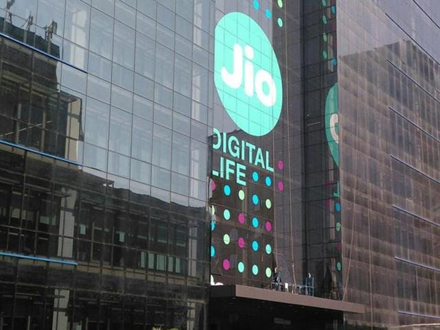 The Jio logo has been displayed at every important building of Reliance Corporate Park in Navi Mumbai.