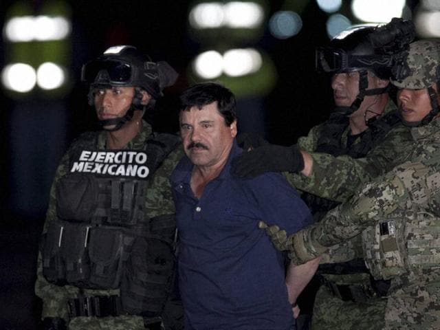 Mexico City :Mexican drug lord Joaquin